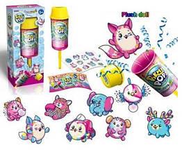 KMW4003 Герои   Confetti,сюрприз-хлопушка, мягкая игрушка, наклейки, в кор.