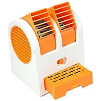 Портативный мини кондиционер вентилятор Kronos MINI FAN HB 168 Оранжевый, КОД: 107082