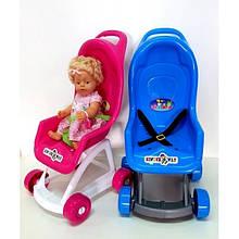 KM37-001 Коляска для куклы, 47,5 х 36,5 х 65h см