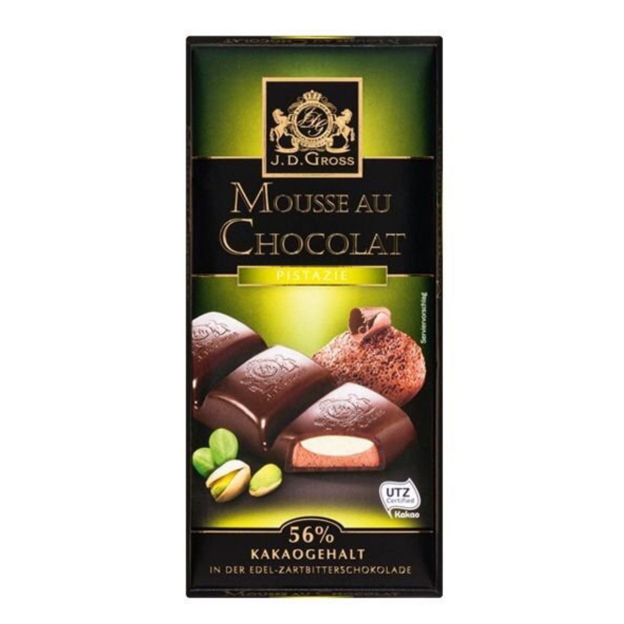 Шоколад J.D.Gross Mousse au Chocolat 182,5г