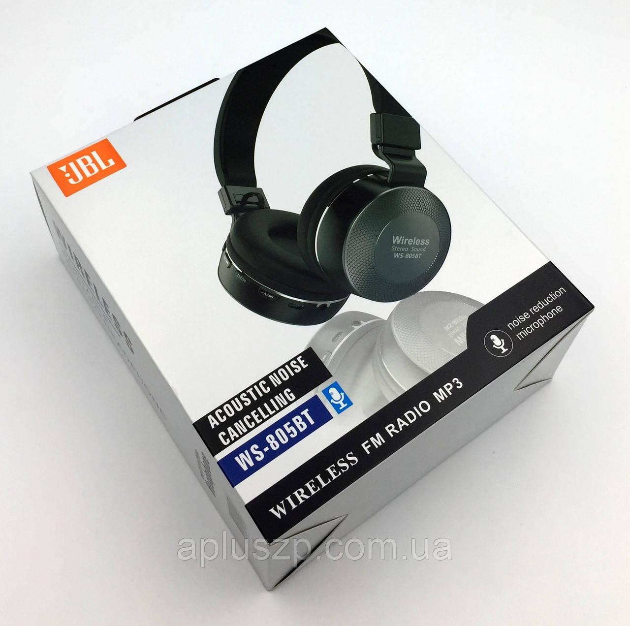 edd08bb857b Наушники Bluetooth JBL WS-805BT с встроенным плеером Black - Aplus в  Запорожье