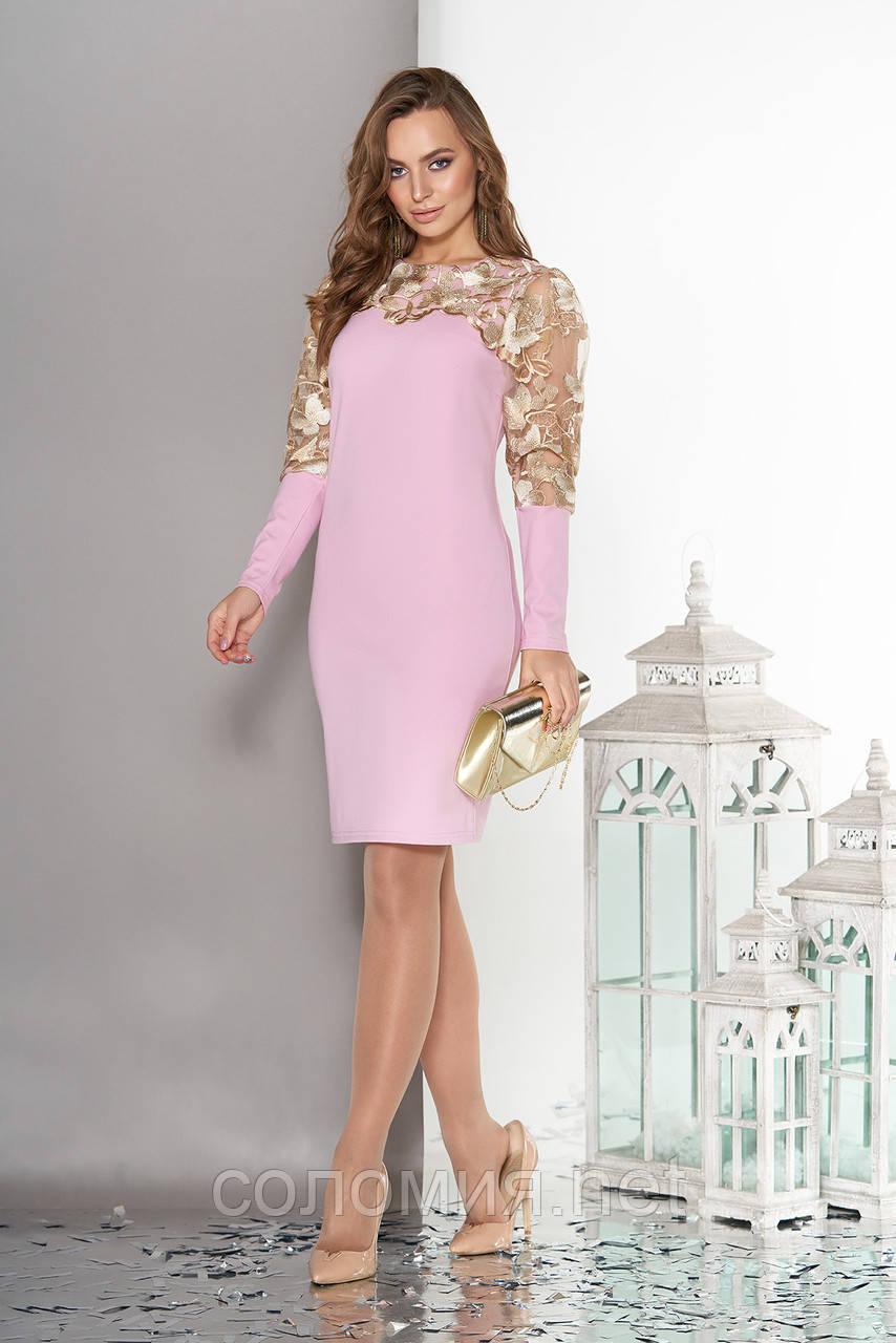 Чарівне ошатне плаття з вишивкою 44-50р
