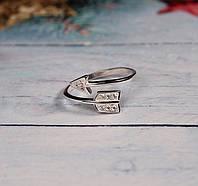 Женское серебряное кольцо Стрела  #
