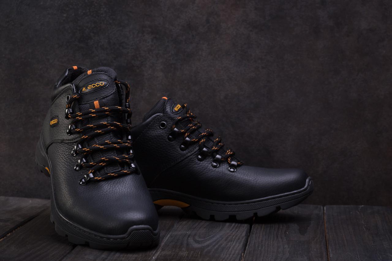 bafaff671 Ботинки Anser 130 (Ecco) (зима, Мужские, Кожа, Черный) — в Категории ...