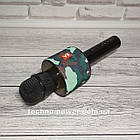 Портативный караоке микрофон Charger V8 Black с чехлом, фото 8