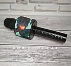 Портативный караоке микрофон Charger V8 Black с чехлом, фото 10