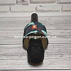 Портативный караоке микрофон Charger V8 Black с чехлом, фото 9