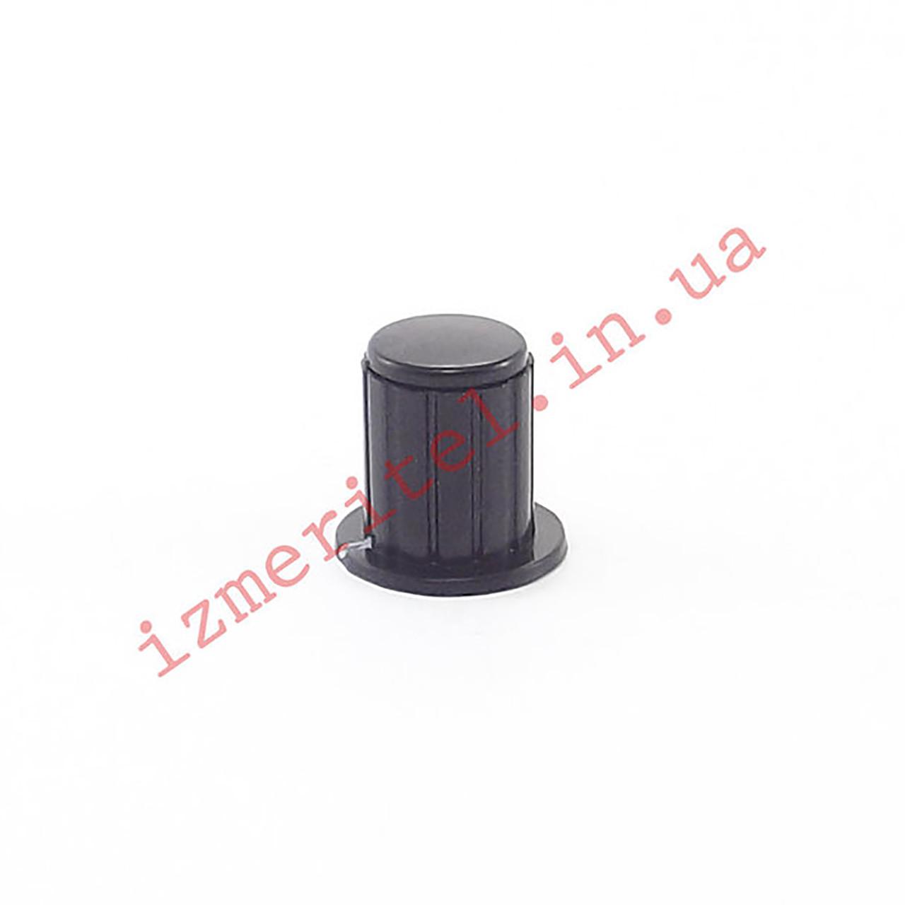 Ручка переменного резистора (KYP16-16-4J, черная)