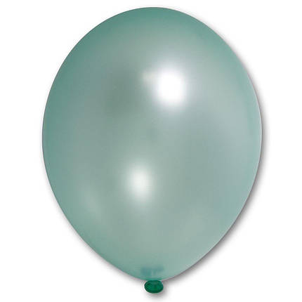"Шар 12"" BELBAL-ББ металлик 074 светло-зеленый, фото 2"