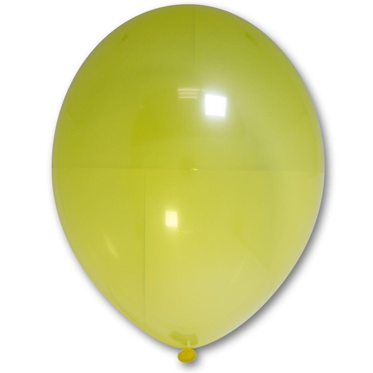 """Шар 12"""" BELBAL-ББ кристалл 036 желтый"""