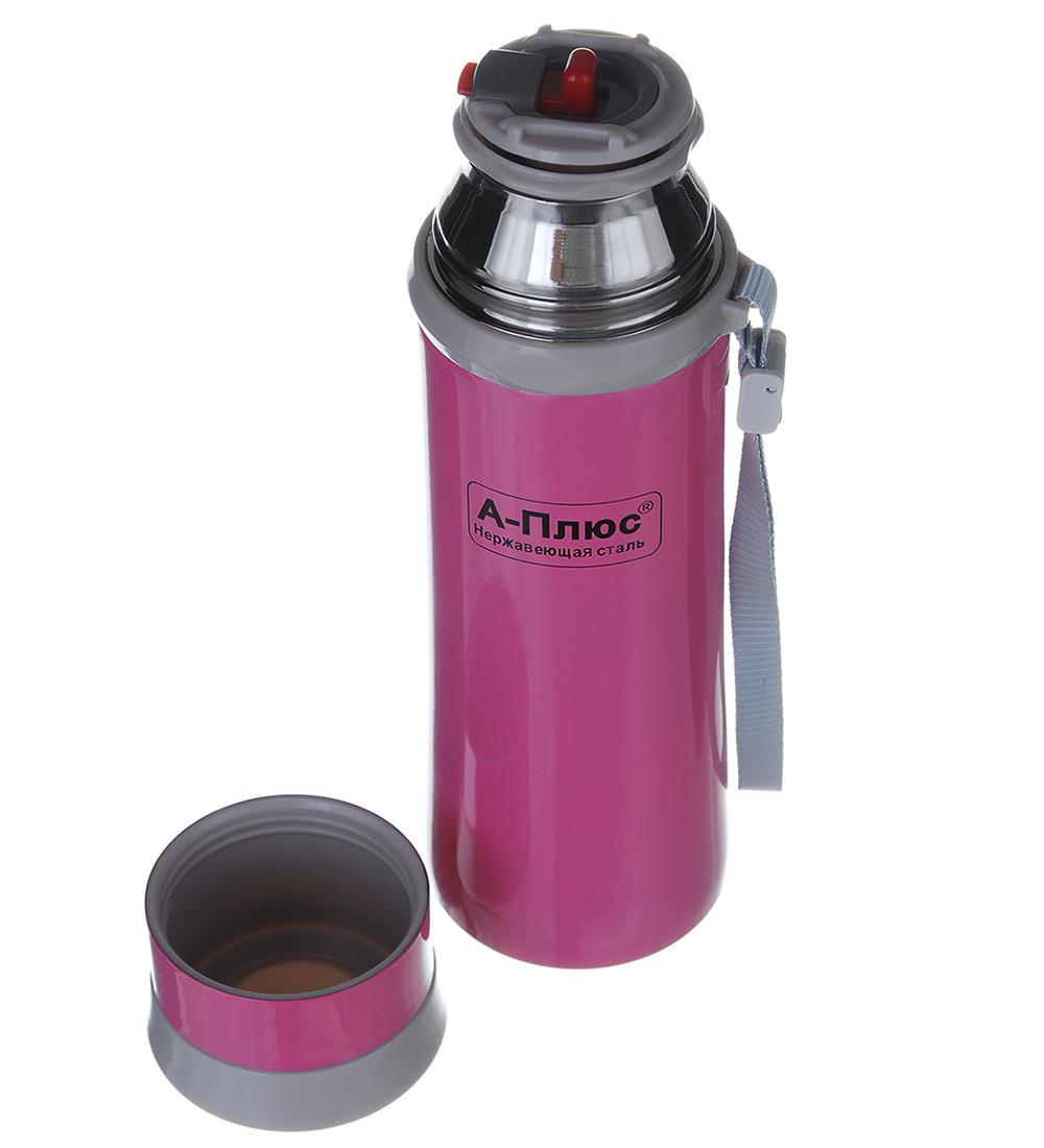 Термос детский A-PLUS 280 мл (1777) Розовый