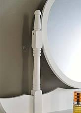 Туалетный столик Princess c зеркалом и табуретом, фото 3
