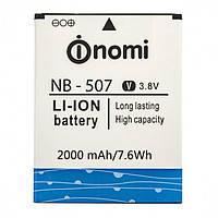 Аккумулятор (Батарея) для Nomi NB-507 i507 (2000 mAh) Оригинал