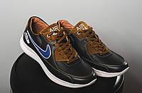 Кроссовки Yuves Rex-Nike (весна-осень, мужские, кожа), фото 1