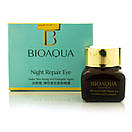 Омолаживающий крем для глаз Bioaqua Night Repair Eye, 20 г, фото 2