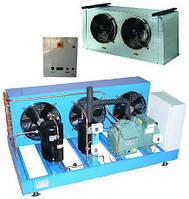 Комплектные холодильные машины для хранения, охлаждения и закалки мороженного