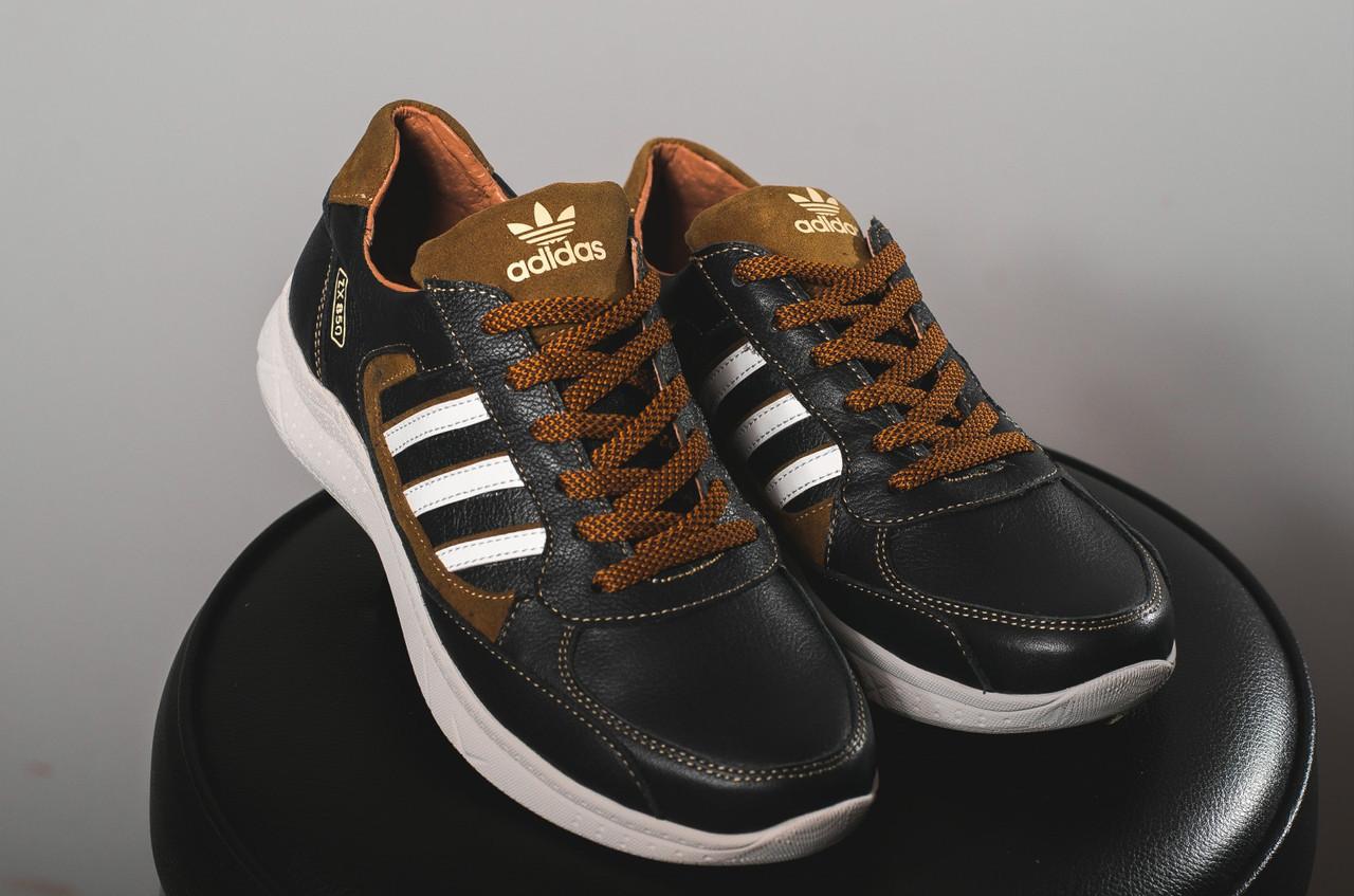Кроссовки Yuves 85 (Adidas) (весна-осень, мужские, кожа)