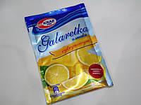 Желе Galaretka Kraf Pak лимонное 70 г