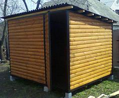Садовые домики (хоз-блоки)