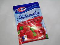 Желе Galaretka Kraf Pak клубничное 70 г