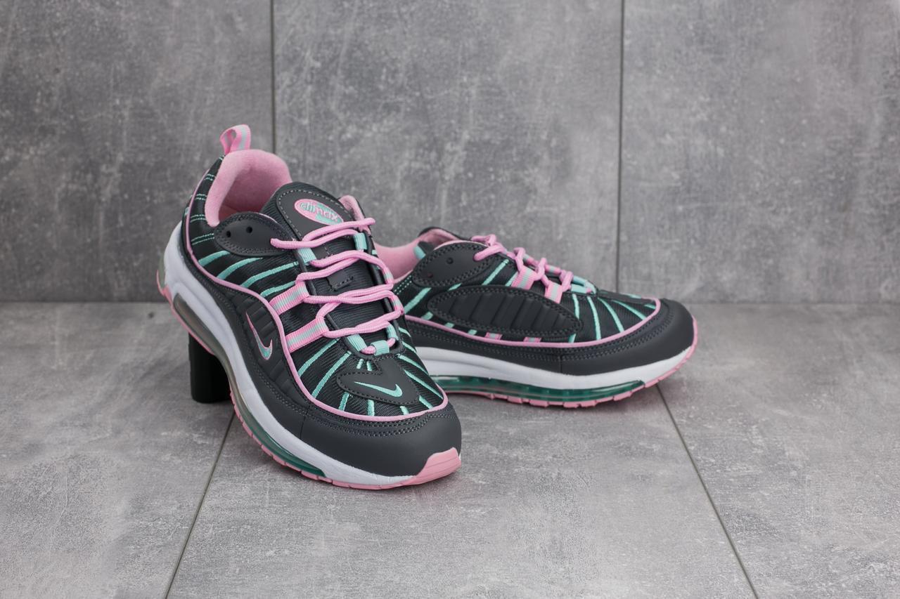 8373143e8b7c Кроссовки В 359-35 (Nike Air Max 98 X Supreme) (весна-осень, Женские,  Резина, Серо-розовые) — в Категории