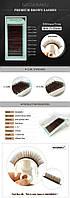 Ресницы темно-коричневые NAGARAKU Mix от 7 до 15 мм, Д 0.07, фото 1