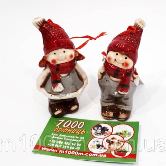 Новогодняя подвеска Детки (цена за 1 шт.) 32069