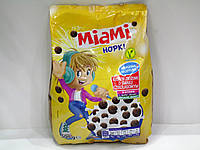 Злаковые шарики с шоколадным вкусом Miami Hopki 500гр