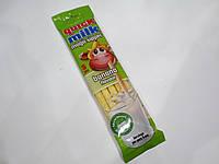 Трубочки для молока Quick Milk Magic Sipper с банановым вкусом 5 шт