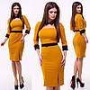Платье / креп-дайвинг / Украина 15-629