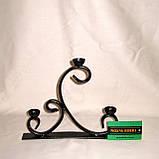 Кованый подсвечник на 3 свечи Ладо, фото 2