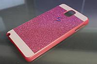 Чехол бордюр на Samsung Galaxy Note 3 N7200 bc розовый (дефект)