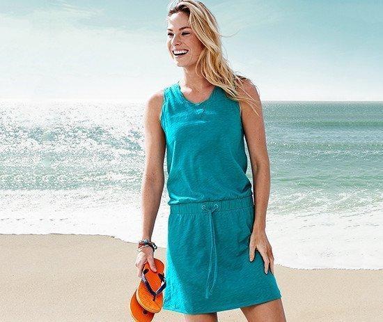 Нежное летнее платье-сарафан от немецкого бренда tсм tchibo (чибо), размер 42-46