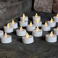 Комплект свечей LED 3.5см (4 шт.) 26021 Цена за упаковку - 4 свечи!