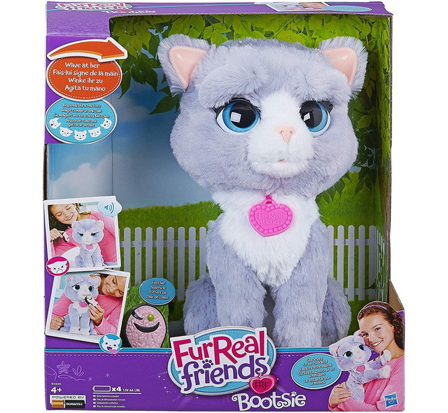 Интерактивнаяи игрушка Котенок Бутси Furreal Friends в коробке