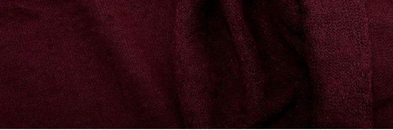 Ткань Ангора Арктика, бордовая