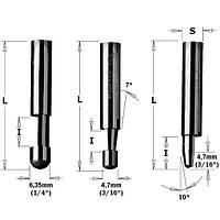 Фреза для триммера d6.35 D6.35 L38 h9.5 СМТ 842.095.11, фото 1
