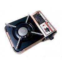 Портативная газовая горелка Походная одноконфорочная Имеет электроподжиг Официальный сайт Код: КГ6938