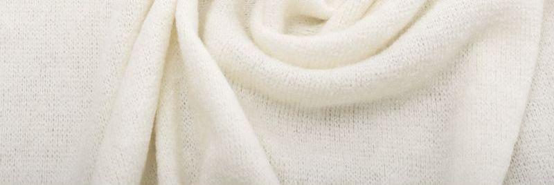 Ткань Ангора Арктика, молочный