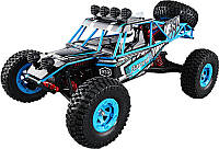 Автомобиль багги на радиоуправлении JJRC Q39 Blue 1:12. До 50 км/ч