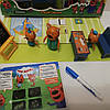 Игровой набор «Три кота» в школе и набором рисуй светом А5 HM-182, фото 2