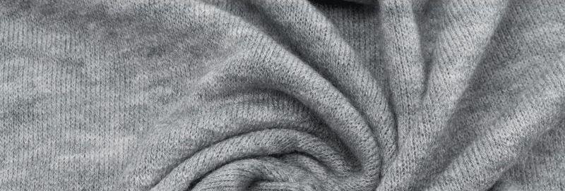 Ткань Ангора Арктика, серая