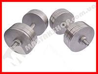 Гантели наборные-разборные 2х22 кг (44 кг пара)