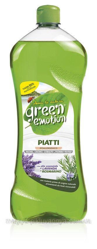 Гипоалергенное средство для мытья посуды Green Emotion Lavanda&Rosmarino 1л, арт.503826