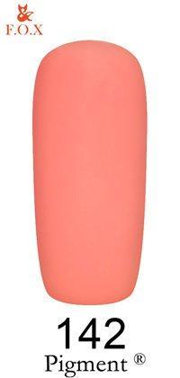 Гель-лак F.O.X Pigment 142 (насыщенный розовый, эмаль),6 ml