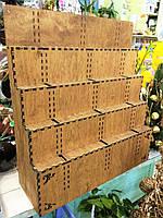 Продающая витрина для топперов_15 слотов_75 топперов_55х50х17 см, фото 1