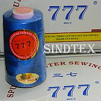 """065 Нитки """"777""""  швейные цветные 40/2 4000ярдов (от 6 бобин)"""