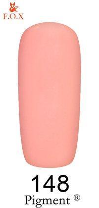 Гель-лак F.O.X Pigment 148 (светлый пурпурно-розовый, эмаль),6 ml