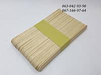 Палочка-шпатель деревянный, большой (50 шт)