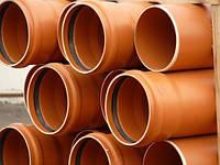 Трубы ПВХ для наружной канализации Интерпласт (Украина)